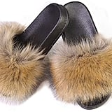 LSWJS Faux Fur Slides