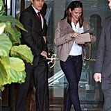 Jennifer Garner Smiles After a Meeting in LA | Pictures