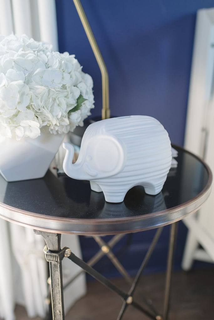 Jonathan Adler's Elephant Bank ($88) makes a chic statement piece.