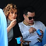 Jennifer Lopez and Casper Smart Had the Cutest Day Date on the Shades of Blue Set