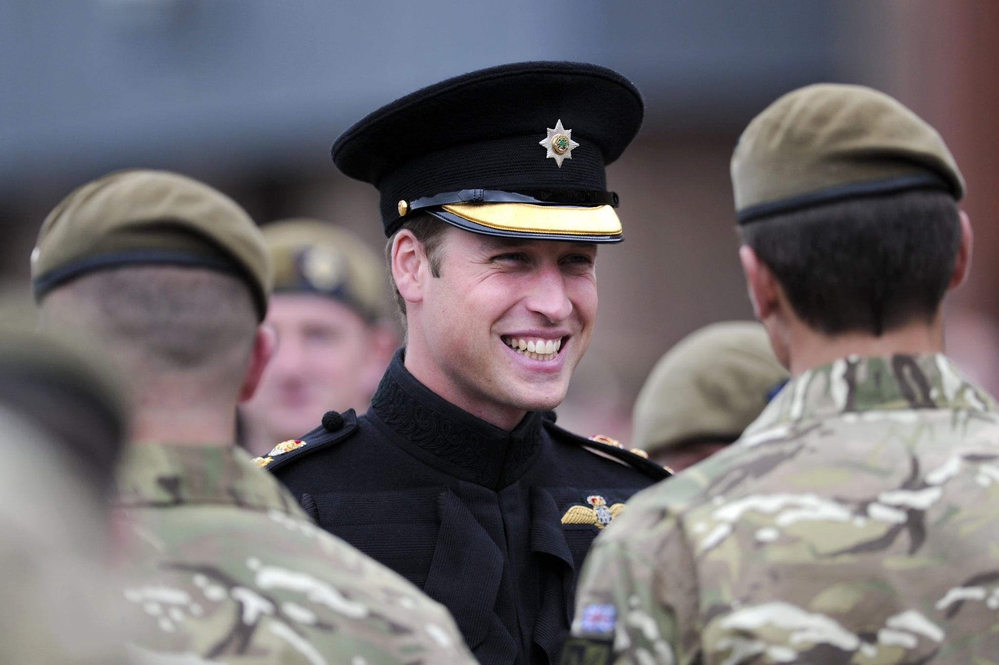 He Looks Good in a Uniform