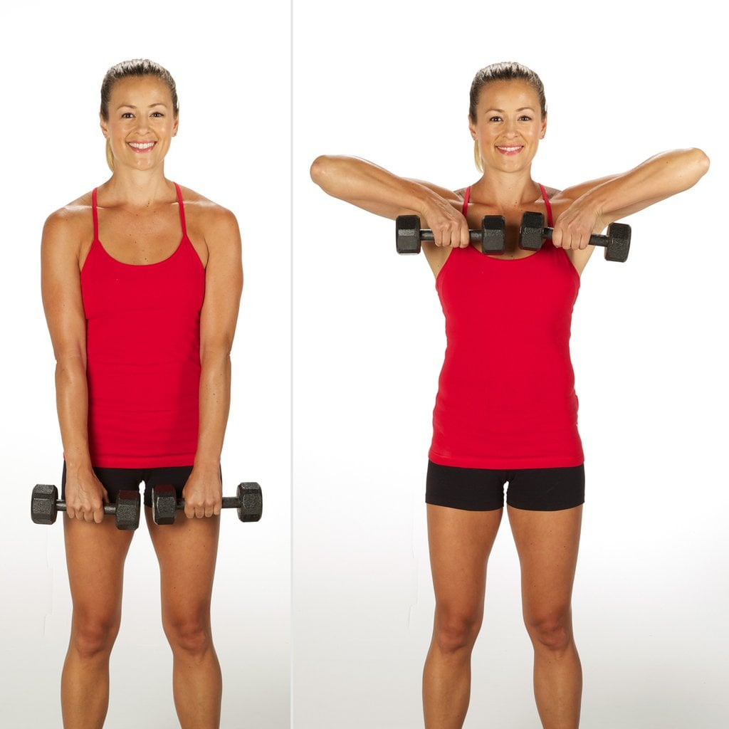 Upper-Arm Exercise: Upright Row