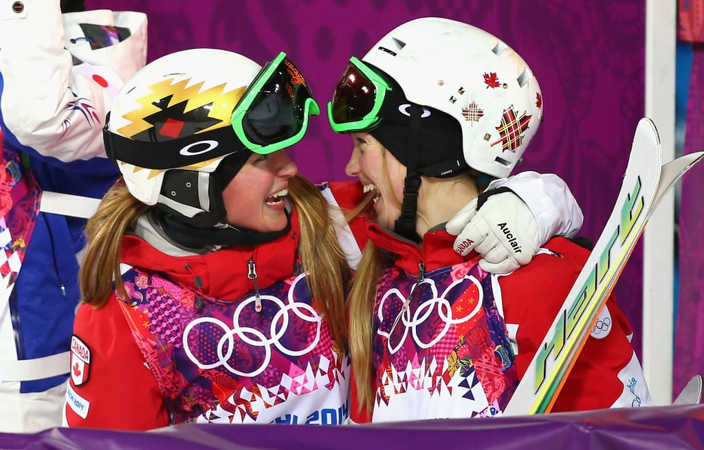 Sisters Chloé and Justine Dufour-Lapointe Win Silver and Gold