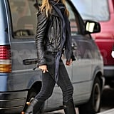 Pictures of Jennifer Aniston in NYC