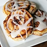 Fast and Easy Cinnamon Roll Pancakes