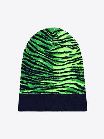 Patterned Wool-Blend Hat ($25)