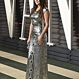 Selena Gomez in Louis Vuitton at Vanity Fair Oscars Party