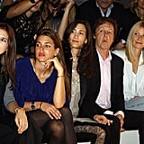 She Sits Front Row at Stella McCartney's Runway Show