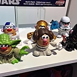Mr. Potato Head will expand its line of Mashups to include some of the cutest Star Wars figures we've ever seen.