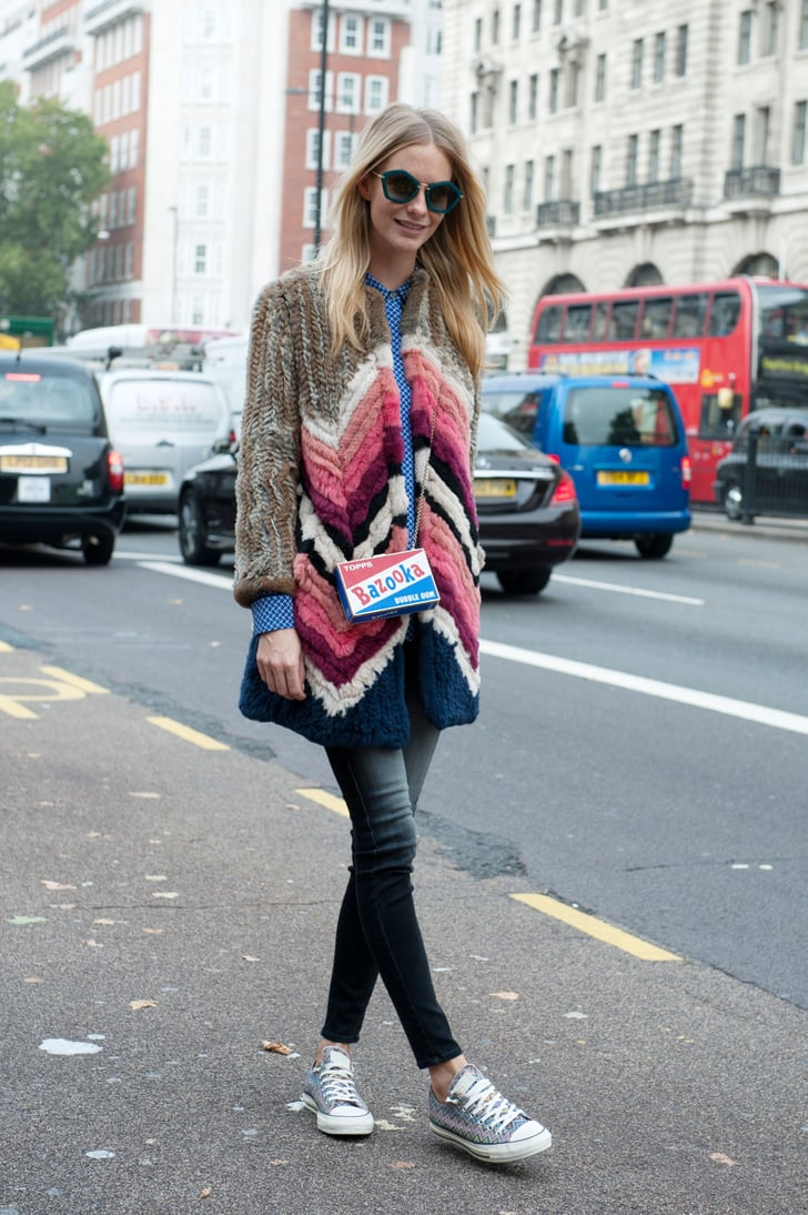 Lfw Street Style Day 5 Best Street Style At Fashion Week Spring 2015 Popsugar Fashion Photo 405