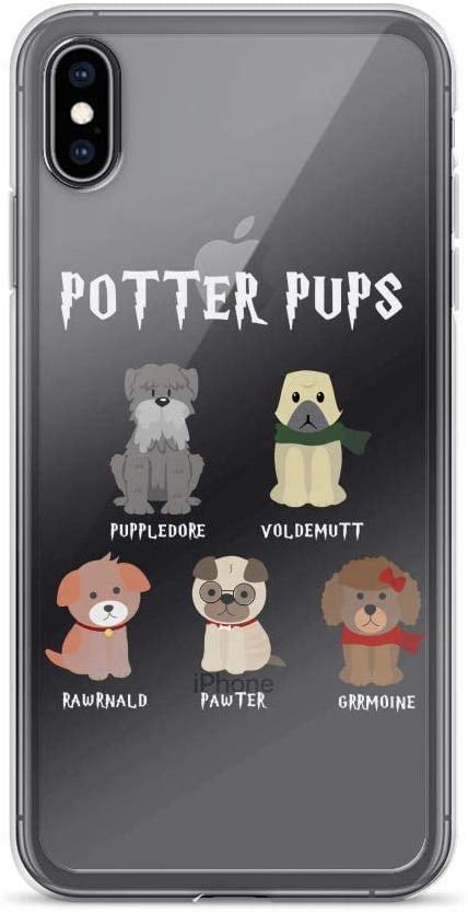 Harry Pawter Potter Pups iPhone Case
