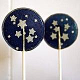 Starry Night Wedding Favor Lollipops
