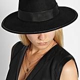 Karl Lagerfeld Wool Felt Fedora Hat