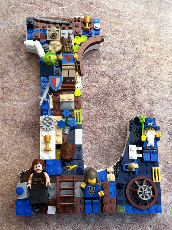 Lego Wall Letter