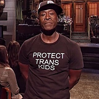 "Don Cheadle Wears ""Protect Trans Kids"" Shirt on SNL 2019"