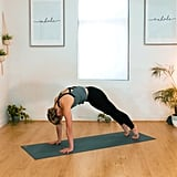 Downward-Facing Dog to High-Plank — 3 Repetitions