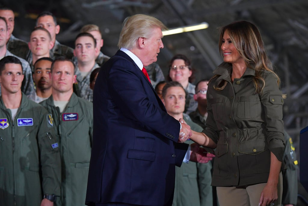 Melania Trump Veronica Beard Military Jacket