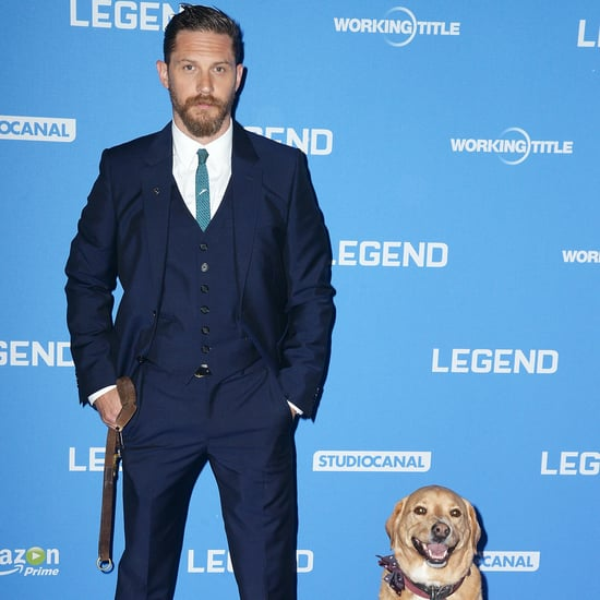 Tom Hardy and Dog Woody in Final Bedtime Story on CBeebies