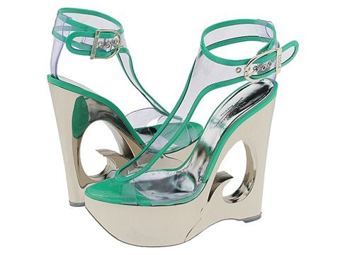 Emilio Pucci Seriously Space Age Sandal: Love It or Hate It?