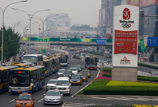 Beijing Brings Back Olympics Car Rules to Cut Smog