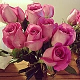 Who doesn't love to be surprised with a bouquet of (PopSugar pink) roses?