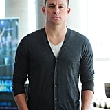 Channing Tatum attended a Magic Mike press junket in Toronto.