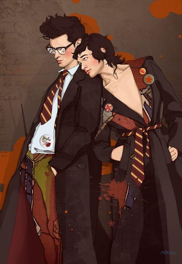 James Potter and Sirius Black