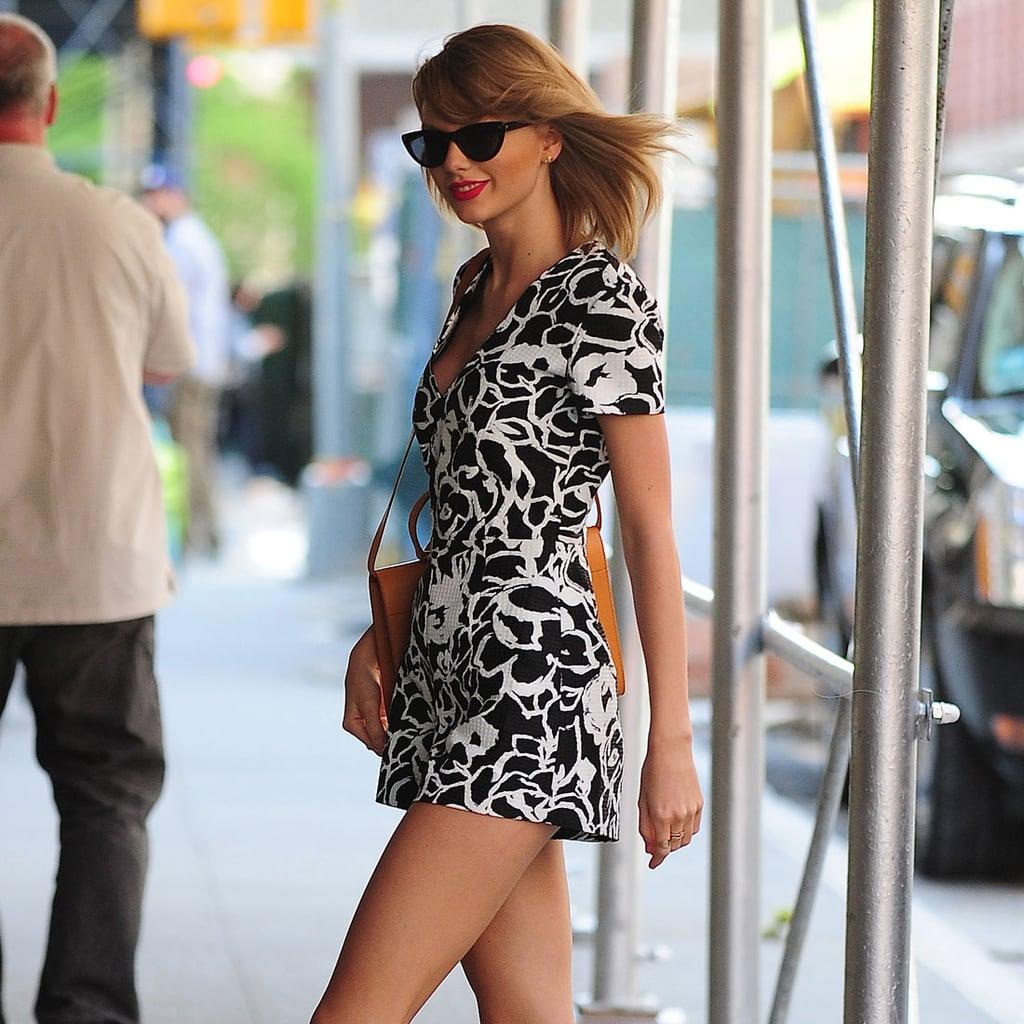 Taylor Swift Wearing a Romper