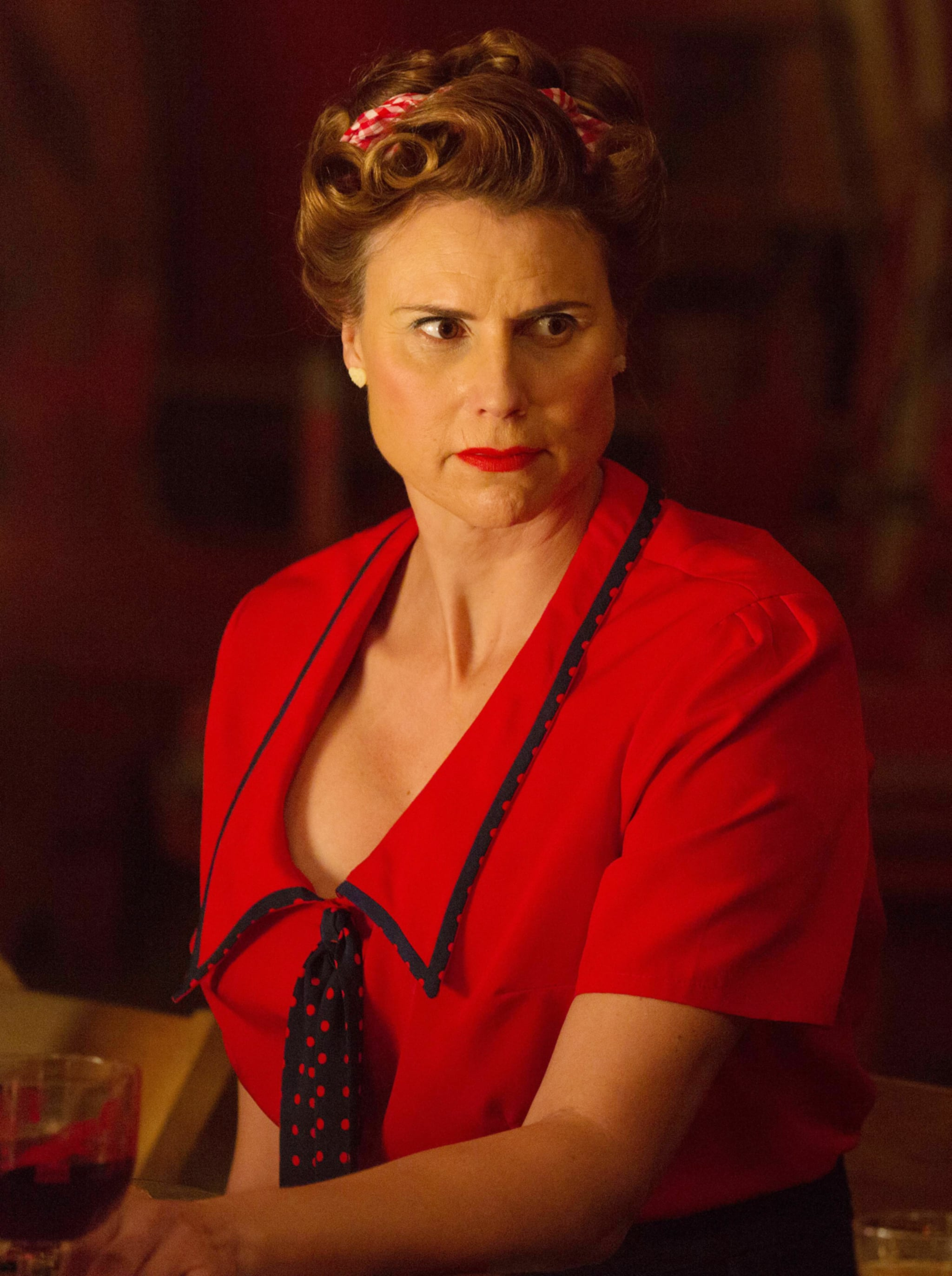 AMERICAN HORROR STORY: FREAK SHOW, Erika Ervin in 'Show Stoppers' (Season 4, Episode 12, aired January 14, 2015). ph: Michele K. Short/FX Networks/courtesy Everett Collection