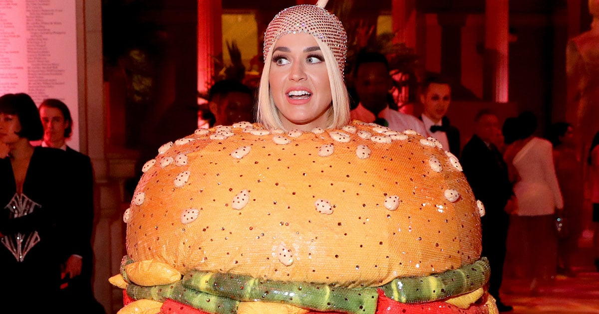 The Met Gala Cheeseburger Reigns Supreme: See All of Katy Perry's Favorite Stage Outfits.jpg