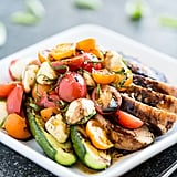 Balsamic Grilled Chicken Caprese Salad