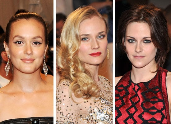 Hair, Makeup and Beauty Pictures from the 2011 Met Costume Institute Gala