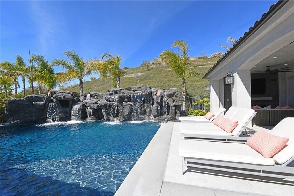 Mansion pool flip flop naked