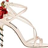 Dolce & Gabbana Rose Embellished Strappy Sandals ($1,395)