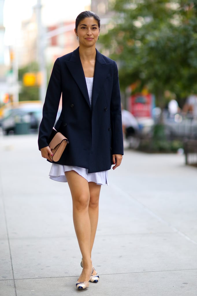 Nyfw Street Style Day 4 Best Street Style At New York Fashion Week Spring 2015 Popsugar