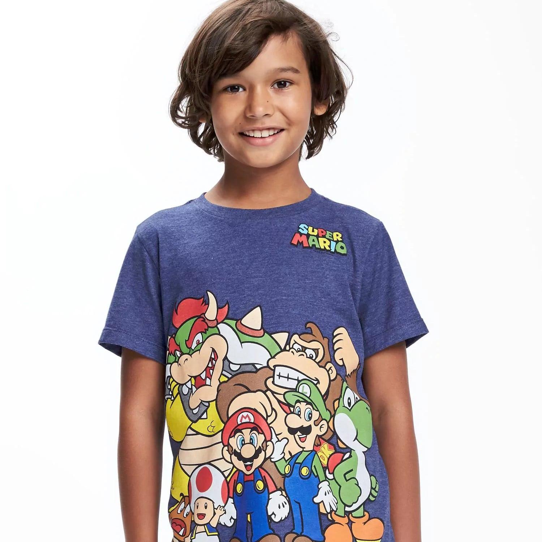 Nintendo Clothes For Kids