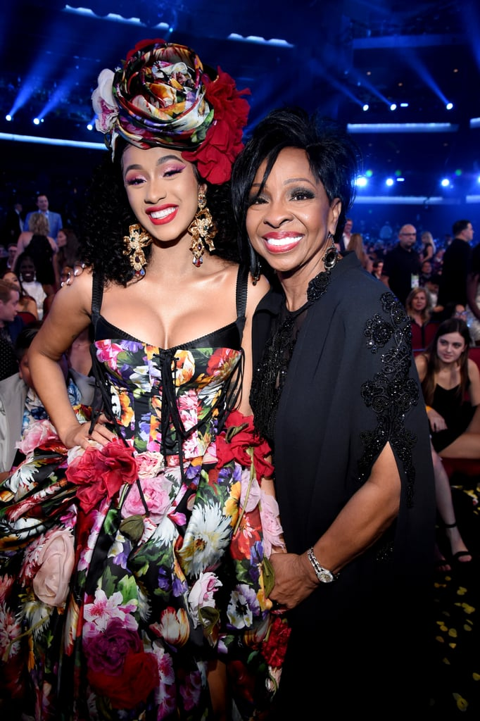 Pictured: Cardi B and Gladys Knight