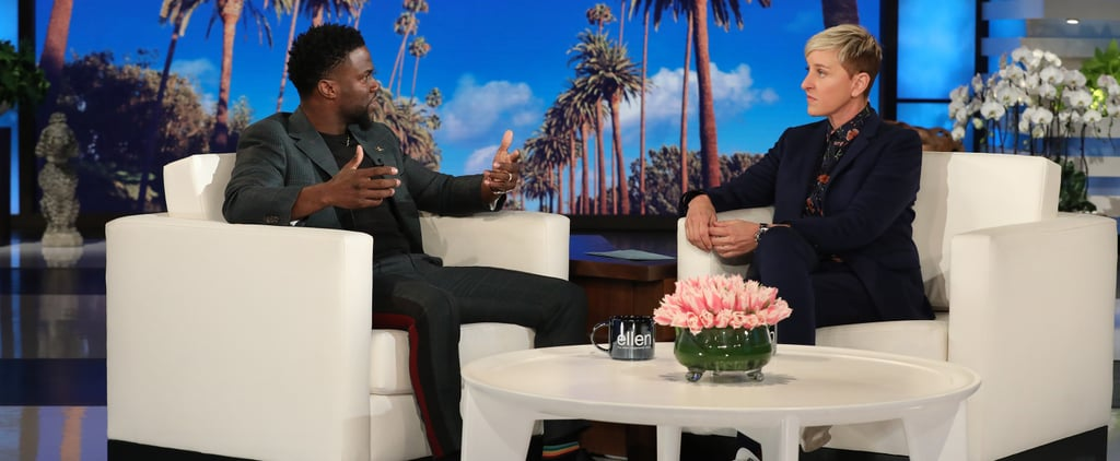 Kevin Hart Talking About Hosting Oscars on Ellen Video