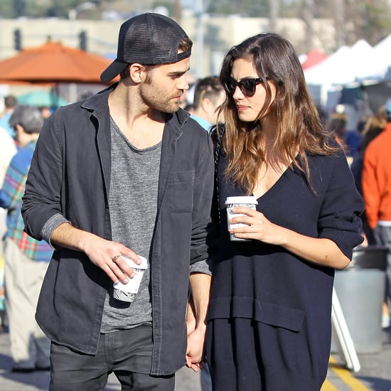 Paul Wesley and Phoebe Tonkin Holding Hands in LA March 2017