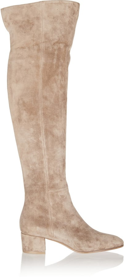 Gianvito Rossi Suede Over-the-Knee Boots ($1,675)