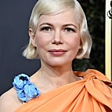 Michelle Williams's Flipped Out Bob at the 2020 Golden Globes