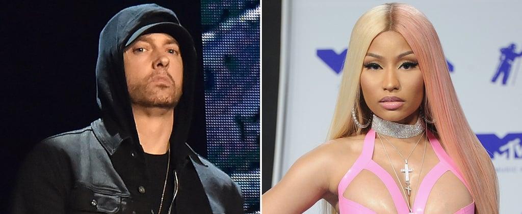 Eminem Talks About Nicki Minaj Dating Rumors During Concert