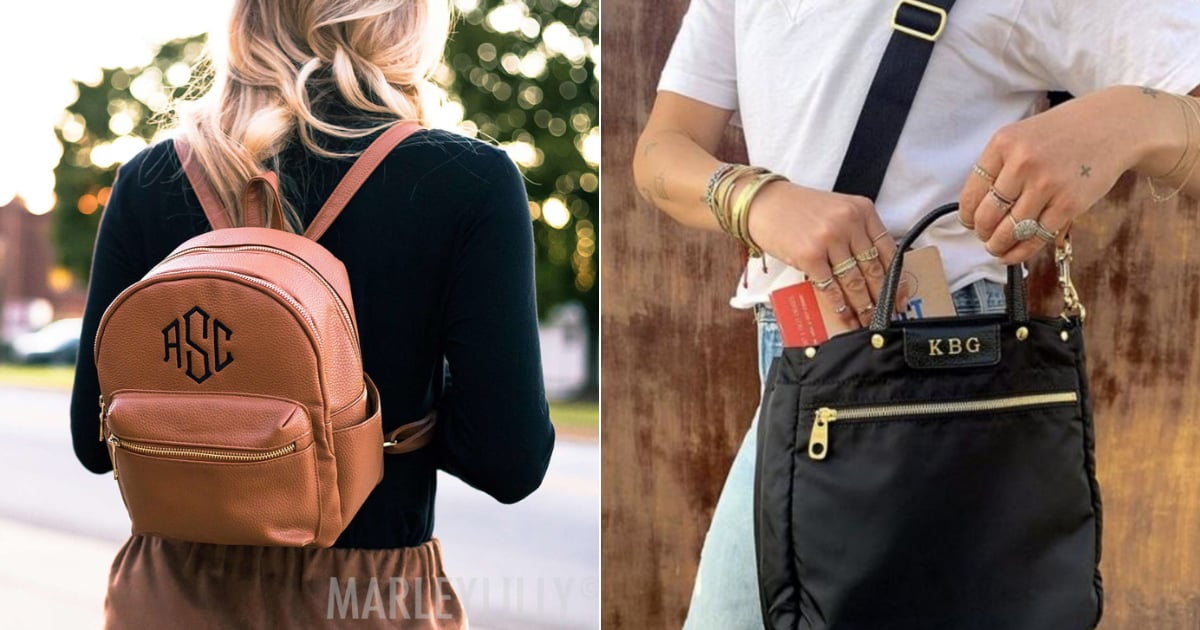 Best Monogrammed Handbags | POPSUGAR Fashion