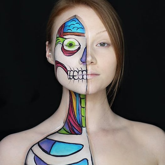 Cracked Doll Makeup POPSUGAR Beauty - Makeup Only Costumes