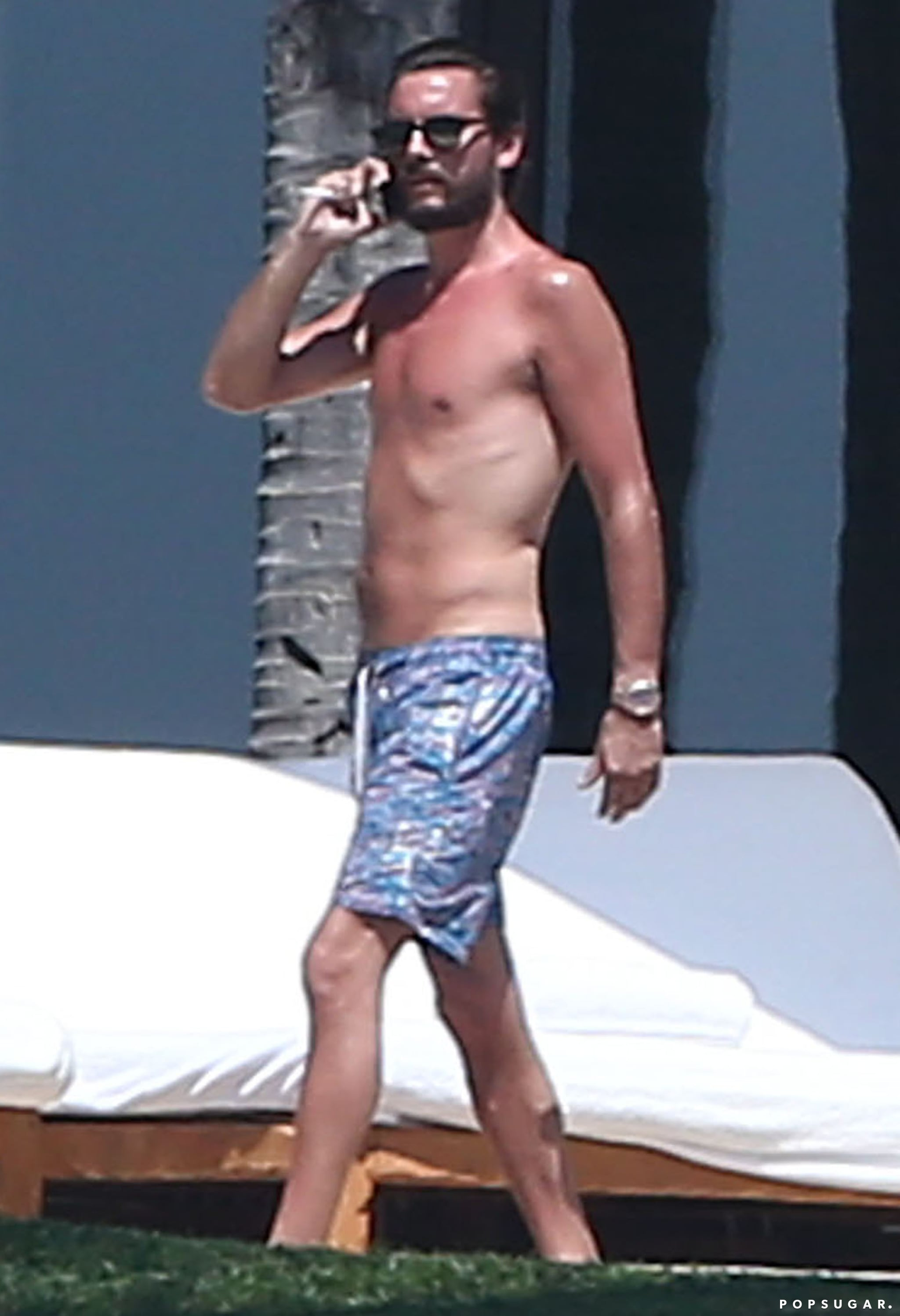 Scott Disick Shirtless