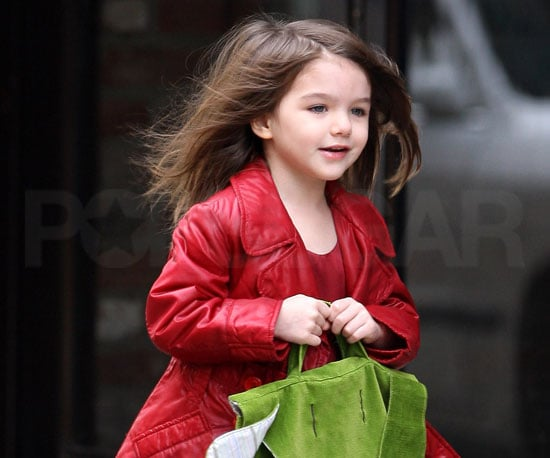 Slide Photo of Suri Cruise Shopping in NYC
