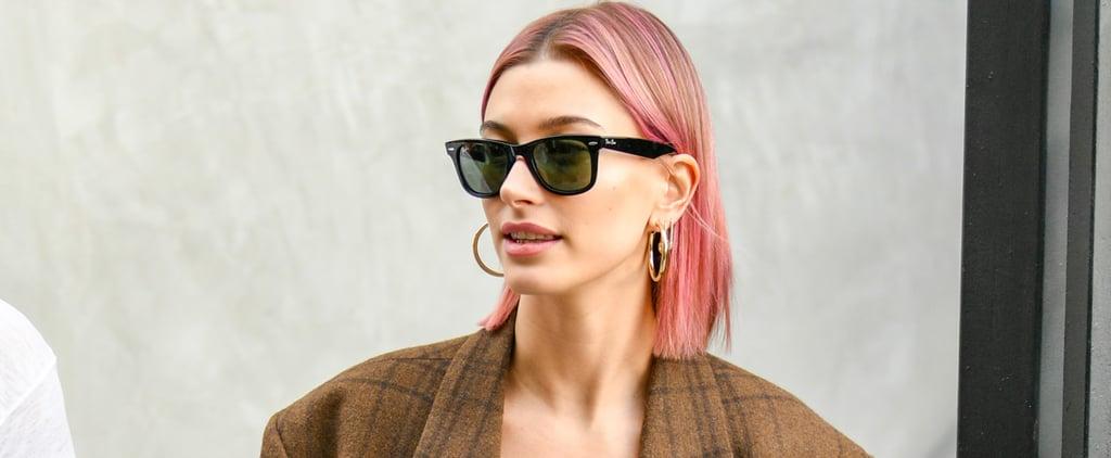 Hailey Baldwin's Pink Hair January 2019