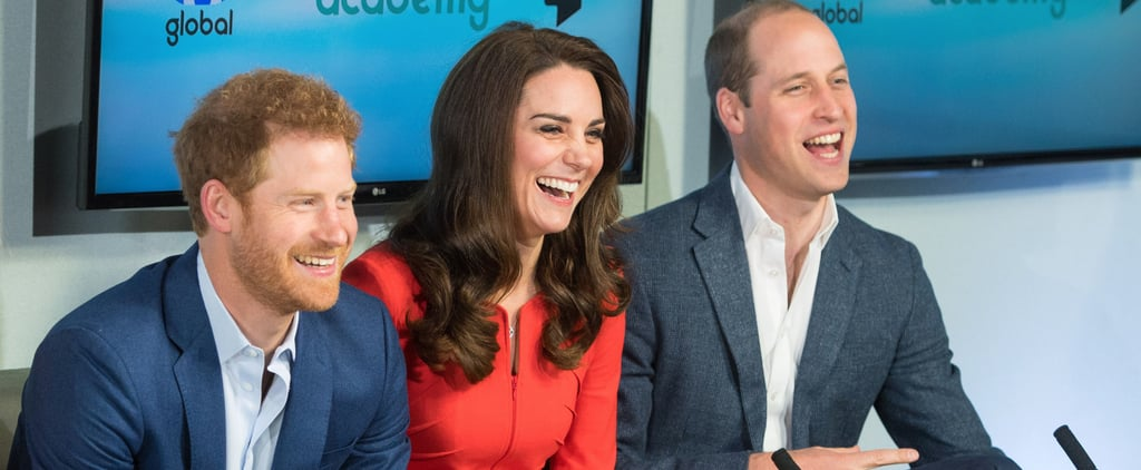 Kate Middleton Laughs Up a Storm During an Outing With William and Harry