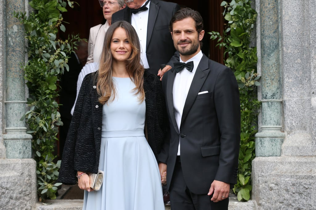 Prince Harry and Meghan Markle's wedding was nothing short of a romantic fairy tale, and thankfully, we didn't have to wait very long for another royal wedding. On Saturday, Prince Carl Philip and Princess Sofia were front and center when Prince Konstantin of Bavaria married Deniz Kaya at a French church in St. Moritz, Switzerland. Carl and Sofia looked picture-perfect as they held hands and made their way inside the church. The prince cut a suave figure in a black tux, while Sofia stunned in a blue gown.  Konstantin is the son of Prince Leopold and Princess Ursula of Bavaria. The Bavarian royal family previously ruled the German territory from 1180 to 1918. Ahead, check out photos from the stunning ceremony.      Related:                                                                                                           The Most Stunning Royal Weddings From Around the World