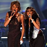 Whitney and Mary J. Blige did a duet at VH1 Divas in 2002.